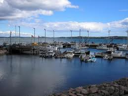 Harbor in Eastport, Maine