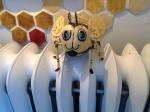 A very cute bee!