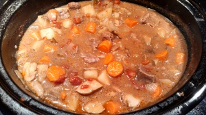 Turns out pictures of beef stew don't look so yummy.  You'll have to trust me that it's delicious.