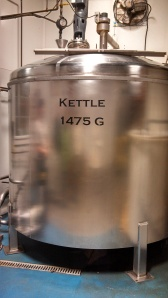 "The ""soup"" is boiled in this kettle before fermentation begins."