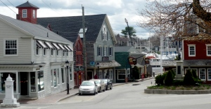 Dock Square in Kennebunkport, Maine