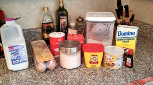 The ingredients - all ready to go!