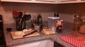 Food prep...