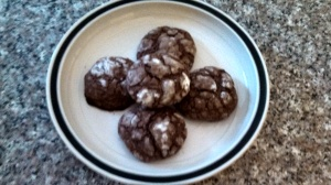 Pretty, nicely shaped cookies were the result!  I will be adding this recipe to my holiday baked goods list.